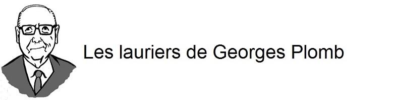 Les lauriers de Georges Plomb Logo